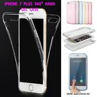 Apple iPhone 7 Plus Full Body Cover iPhone 360° HARD GEL Case Full Protection