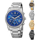 Men's Akribos XXIV AK868 Swarovski Crystals Multifunction Stainless Steel Watch