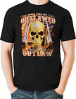 Guns Outlawed Second Amendment T Shirt Be An Outlaw Small to 6XL Free Shipping