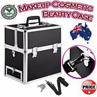 Travel Beautician Cosmetic Beauty Makeup Carry Case Box Bag Organiser Storage