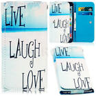 Universal PU Leather Wallet Style Cover Flip Case For Various Sony Mobile Phones