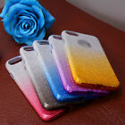 3-in-1 Gradient  Shimmering Case Soft TPU Gummy Skin Case Cover For iPhone 7 New