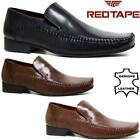 Mens Red Tape Leather Shoes Smart Office Wedding Dress Work Formal Party Shoes