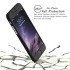 Hybrid 360° Hard Ultra thin Case& Tempered Glass Cover For Apple iPhone 7  7Plus