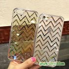 New Quicksand Liquid Glitter Water Stars Sparkly Floating Dynamic Case For Apple