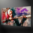 HARLEY QUINN SUICIDE SQUAD CANVAS WALL ART PICTURE PRINT VARIETY OF SIZES