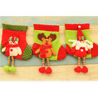 HIG Christmas Sock Boot For Presents Gifts New Year's Soft Decoration Boot