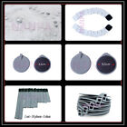 New Reusable Rubber Electrode Pads / Replacement Self Adhesive Electrode Pads