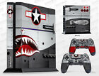 PS4 Skin / Sony PlayStation 4 Sticker Kit - War Machine™ by Invision Artworks