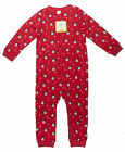 Girls Baby Minnie Mouse Hearts Print Sleepsuit Red Tiny Baby - 24 Months NEW