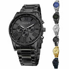 Jewelry Watches - Men's Akribos XXIV AK736 Quartz Multifunction Stainless Steel Braclet Watch