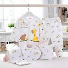 5pc Cotton Newborn Baby clothes Sets 0-3 Month boys girls sleepwear Pants New