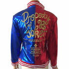 Harley Quinn Suicide Squad Jacket Costume Cosplay Movie Halloween Batman Coat