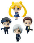 Sailor Moon Petit Chara Trading Figure 4-Pack Three Lights Star Lights 6 cm