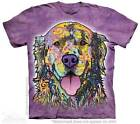 Golden Retriever Dog Puppy Face T Shirt The Mountain Dean Russo Tee S-4XL 5XL