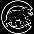 CHICAGO CUBS Logo ~ Window WALL DECAL * Vinyl Car STICKER ~ ANY COLOR