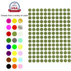 Color Coding Labels 3/8' Round 10 Colors Small Circle Stickers 700 Pack 0.375