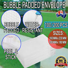BLANK Bubble Padded Mail Envelopes Letter Postage Supply Mailer Shipping Post