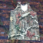 Mens Woodland Camo/Camouflage Muscle Vest