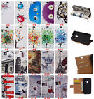 NEW Leather wallet pouch flip stand case skin cover For ZTE Axon 7 mini