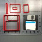Floppy Disk 100 Cookie Cutter Set