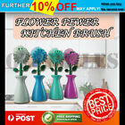 SBONGE SCRUB FLOWER POWER DISH BRUSH IN POT Cleaning Brush