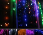 Multi 3.5M 100 SMD Butterfly LED Light String Xmas Wedding Party Curtain Lights