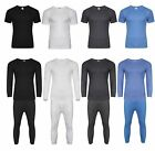 Mens Thermal Long Johns Short Sleeve T-Shirts Winter Warm Thermal Underwear Lot