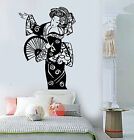 Vinyl Wall Decal Geisha Oriental Beauty Woman Asia Asian Stickers (ig3855)