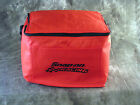 Snap On Tools Racing Small Red Polyester Collapsible Cooler 6 Pack