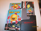 NES NINTENDO GAME PAC-MAN COMPLETE. has game ,book, poster and dust cover