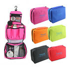 Foldable Travel Cosmetic Toiletry Case Wash Bag Makeup Storage Hanging Pouch