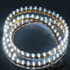 10 x White Blue 96 120 LED Neon Flexible PVC LED Car Strip Light Waterproof 12V