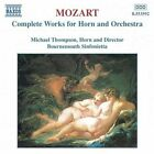 Wolfgang Amadeus Mozart - Mozart: Complete Works for Horn & Orchestra (1998)