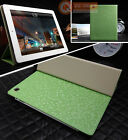 Premium Magnetic Folding Folio Leather Smart Cover Case for iPad 4 3 2 Green