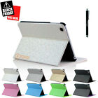 Magnetic Slim Leather Folio Stand Smart Case Cover for iPad Mini / Mini 2 White