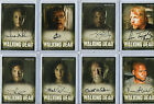 The Walking Dead Autograph & Wardrobe Card Selection NM Cryptozoic