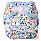 Mababy Reusable Waterproof PUL Baby Cloth Diaper Nappy Cover Double Gussets