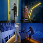 Waterproof Motion Activated LED Bed Strip Light 1M 1.5M Warm White Battery Opera
