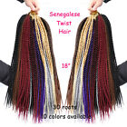 "18"" Kanekalon Braiding Hair Extension 30 Strands/Pack Freetress Crochet Braids"
