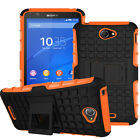 Hybrid Kickstand Protective Shockproof Rugged Armor Case Cover For Sony Xperia