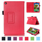 Stand Leather Smart Cover For Amazon Kindle Fire HD 8 2016 6th Gen Tablet Case
