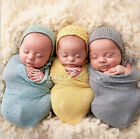 HX New Baby New Born Infants Photography Props Crochet Wrapped Yarn Clothes