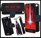 Personalised Darth Vader Star Wars the last Jedi Phone case flip wallet gift £8.99 GBP