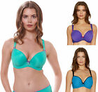 Freya 1704 Deco Vibe Underwired Moulded Plunge Bra New J Hook T-Shirt Bra