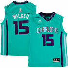 Charlotte Hornets Kemba Walker #15 Adidas NBA Youth Teal Alternate Jersey