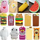 3D Cute Soft Silicone Gel Rubber Case Cover Skin For iPhone 5/6/7+/Samsung G360