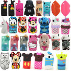 3D Cartoon Silicone Soft Case Cover For HTC 816/626/610/820/M7/M8/M9/E8/EYE/G7