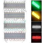 20pcs 3 LED 5050 SMD Module Light Lamp Strip DC 12V Decor Waterproof for Letter