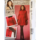 Misses Lined Coat McCalls M5513 Sewing Pattern Hillary Duff 2007 c1690